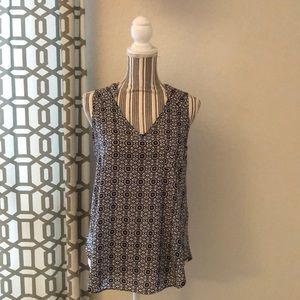 Lush sleeveless blouse.